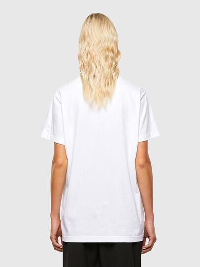 Diesel - T-DARIA-R1, White - T-Shirts - Image 2