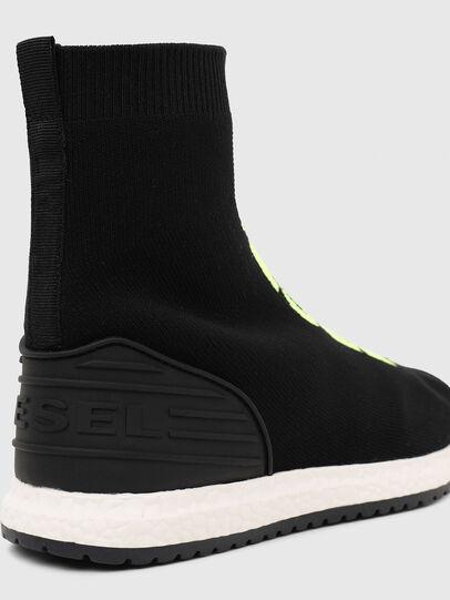 Diesel - SLIP ON 04 MID SOCK, Black - Footwear - Image 5