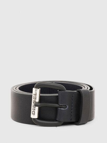 Diesel - B-ZIGRA, Black - Belts - Image 1