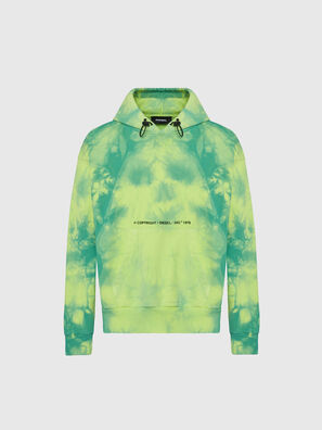 S-ALBYEL-X4, Green/Yellow - Sweaters