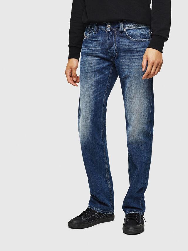 Diesel - Larkee 008XR, Dark Blue - Jeans - Image 1