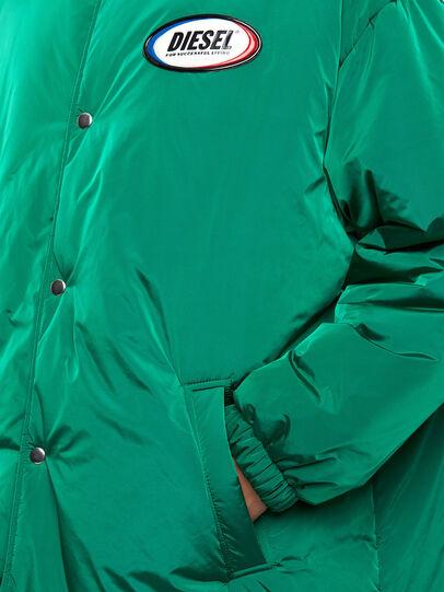 Diesel - W-KODYN, Green - Winter Jackets - Image 4