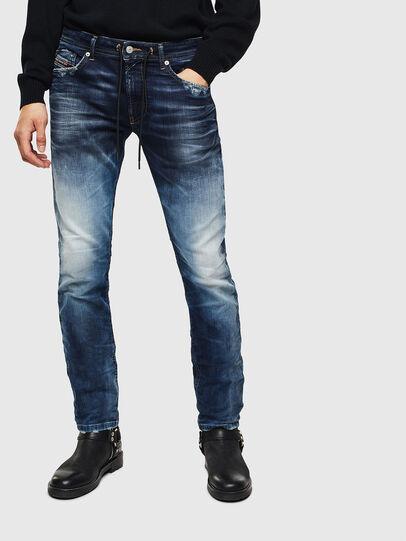 Diesel - Thommer JoggJeans 069KD, Dark Blue - Jeans - Image 1