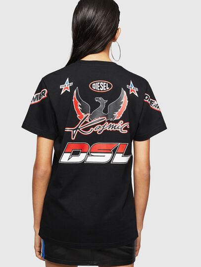 Diesel - ASTARS-T-DIEGO-FL, Black - T-Shirts - Image 2