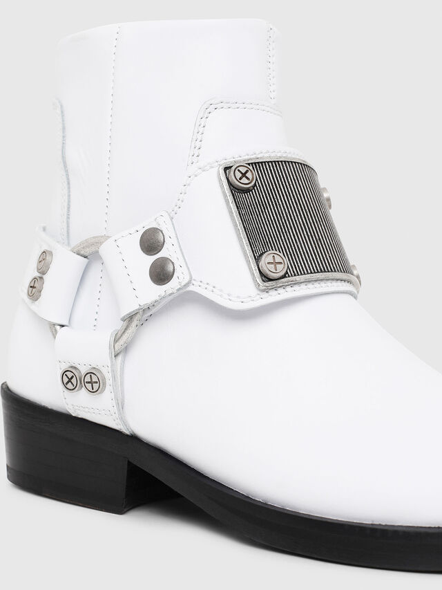 Diesel - D-BIOYS MC, White - Boots - Image 8