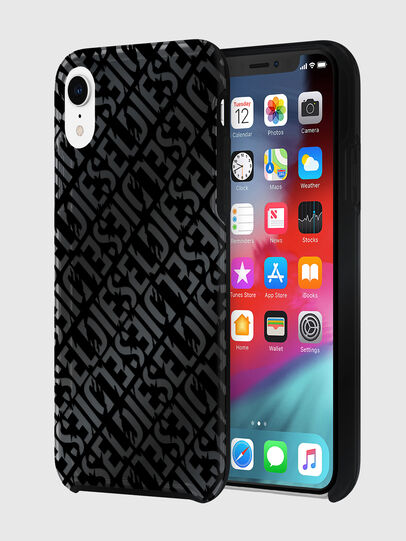 Diesel - DIESEL PRINTED CO-MOLD CASE FOR IPHONE XR, Black - Cases - Image 1