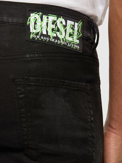 Diesel - D-Strukt JoggJeans 009GH, Black/Dark grey - Jeans - Image 3