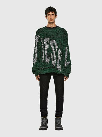 Diesel - K-FLYNN, Green - Knitwear - Image 5