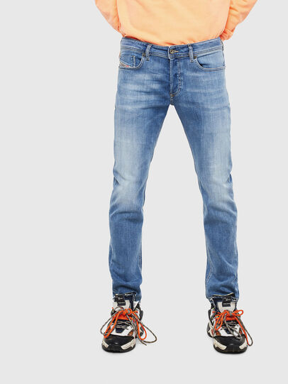 Diesel - Sleenker 0095G, Light Blue - Jeans - Image 1