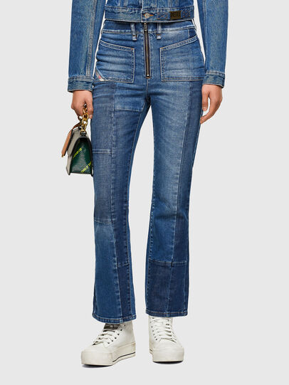 Diesel - D-Earlie 009NP, Medium blue - Jeans - Image 1