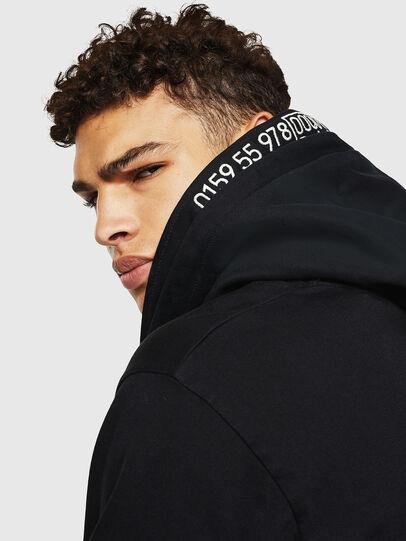 Diesel - L-BRANDO, Black - Leather jackets - Image 8