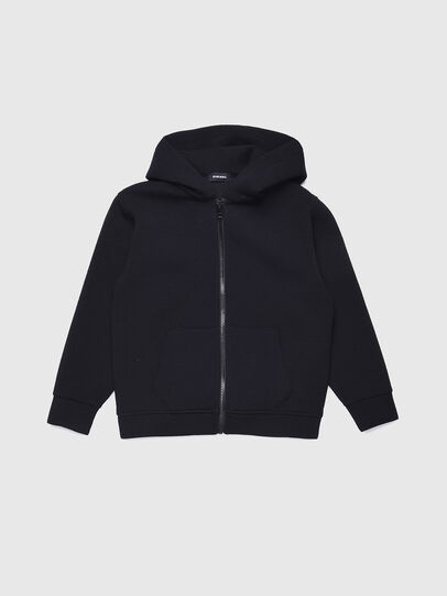 Diesel - SGORDONZIP OVER, Black - Sweaters - Image 1