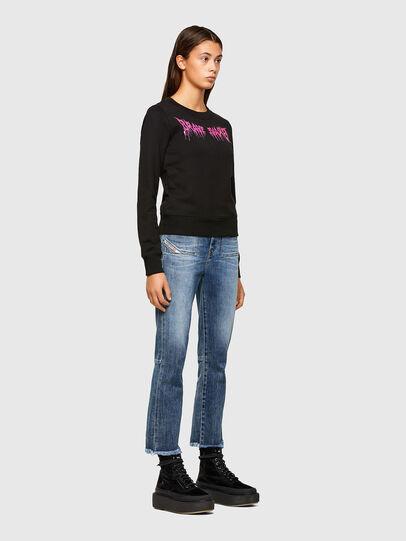 Diesel - F-AMOUS, Black - Sweaters - Image 5