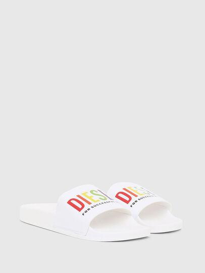 Diesel - SA-VALLA, White - Slippers - Image 2