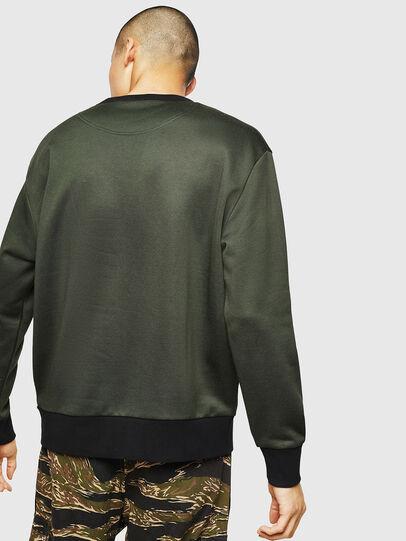 Diesel - S-BAY-MESH, Dark Green - Sweaters - Image 2