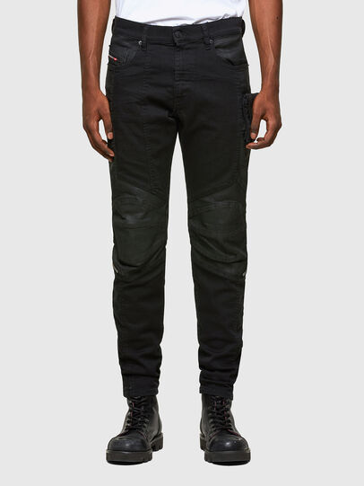 Diesel - D-Strukt 069TH, Black/Dark grey - Jeans - Image 1