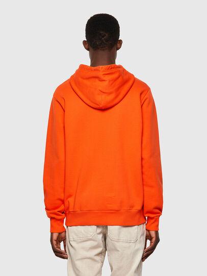 Diesel - S-GIRK-HOOD-B4, Orange - Sweaters - Image 2