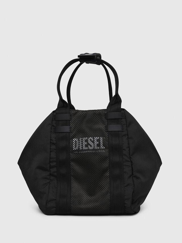 Diesel - D-CAGE SHOPPER, Black - Shopping and Shoulder Bags - Image 1