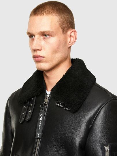 Diesel - L-ARNOLD,  - Leather jackets - Image 3