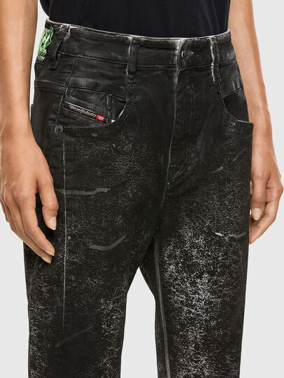 Diesel - Fayza 009DL, Black/Dark grey - Jeans - Image 3