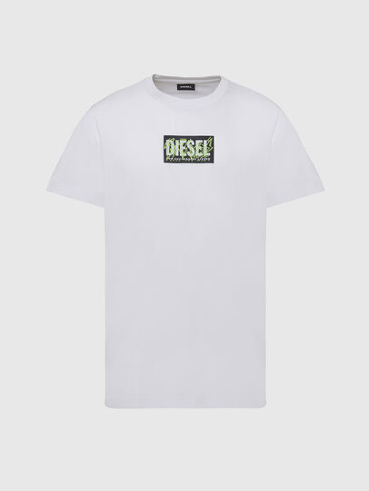 Diesel - T-DIEGOS-N34, White - T-Shirts - Image 1