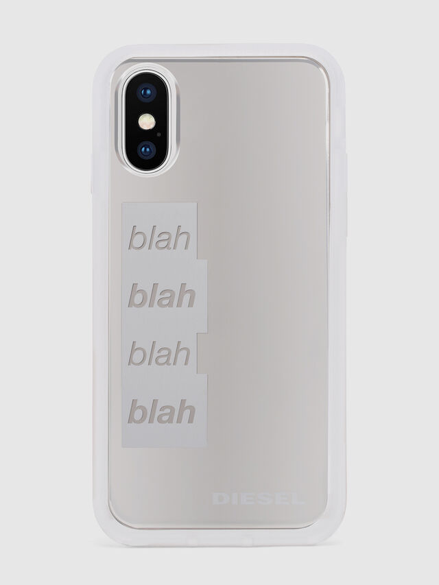Diesel BLAH BLAH BLAH IPHONE X CASE, White - Cases - Image 2