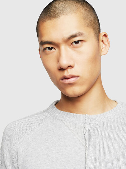 Diesel - K-BOX, Light Grey - Knitwear - Image 3