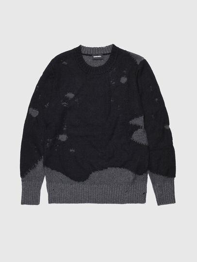 Diesel - KSLOUR, Black - Knitwear - Image 1