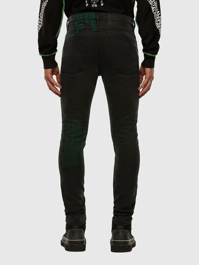 Diesel - D-REEFT JoggJeans® 009HD, Black/Dark grey - Jeans - Image 2