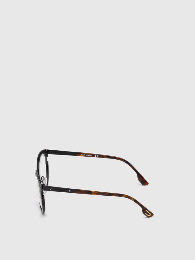 Diesel DL5217, Black - Eyewear - Image 3