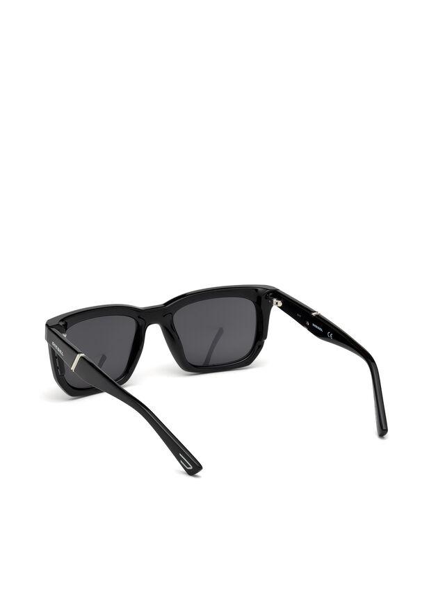 Diesel - DL0254, Black - Eyewear - Image 2