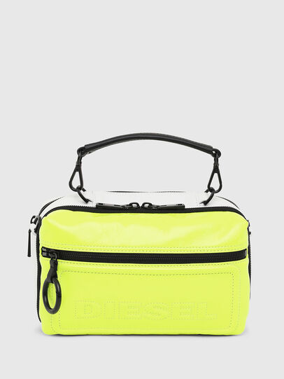 Diesel - FUTURAH, Yellow Fluo - Crossbody Bags - Image 1