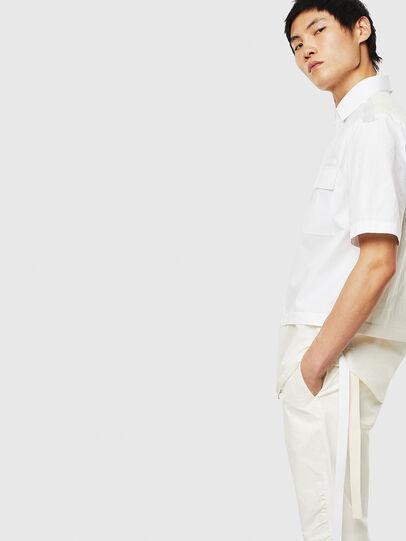 Diesel - S-GIBBS, White - Shirts - Image 4