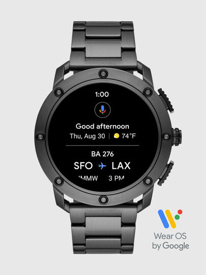 Diesel - DT2017, Dark grey - Smartwatches - Image 6