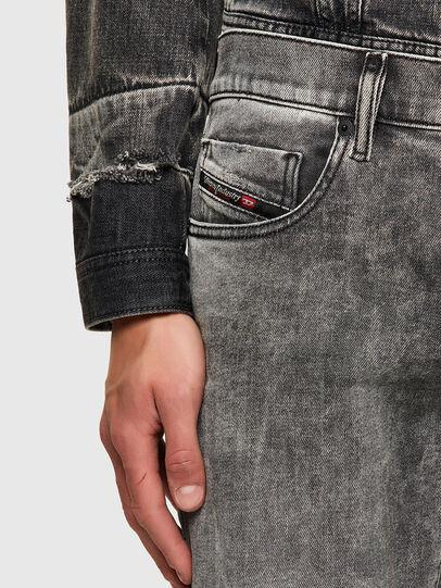 Diesel - D-Strukt 009KA, Light Grey - Jeans - Image 4