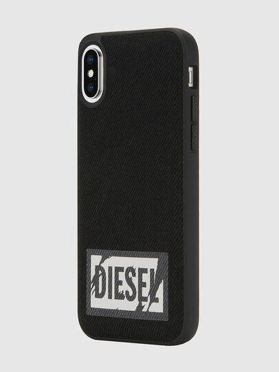 Diesel - BLACK DENIM IPHONE X CASE,  - Cases - Image 5