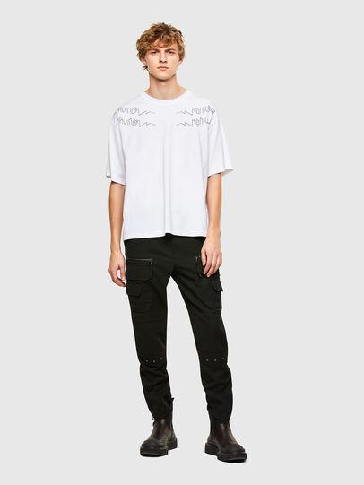Diesel - T-AFNIO, White - T-Shirts - Image 5