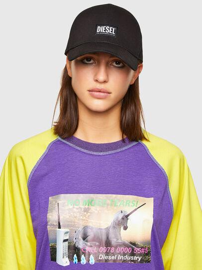 Diesel - T-SPO, Violet/Yellow - T-Shirts - Image 3