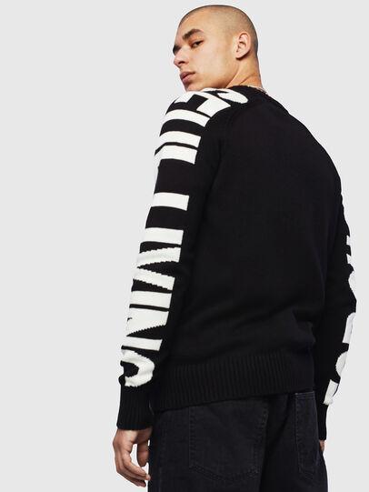 Diesel - K-INTARY, Black - Knitwear - Image 2
