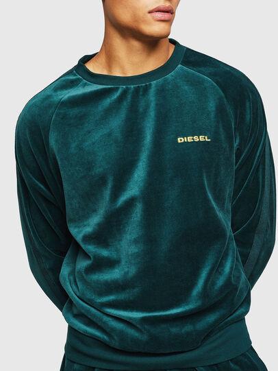 Diesel - UMLT-MAX, Dark Green - Sweaters - Image 4