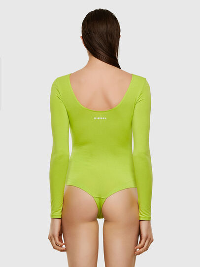 Diesel - UFBY-BODY-LS, Yellow Fluo - Bodysuits - Image 2