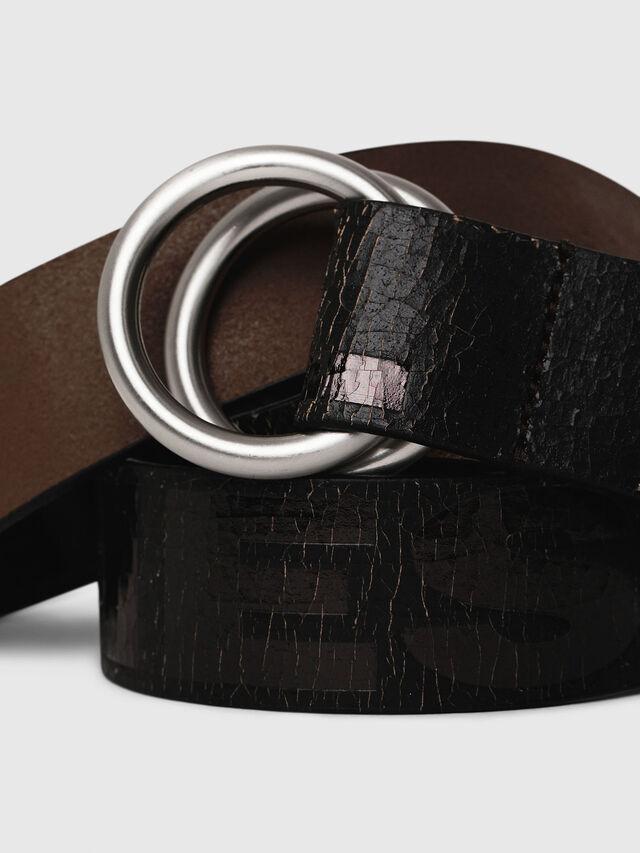 Diesel - B-LETTER, Black - Belts - Image 2