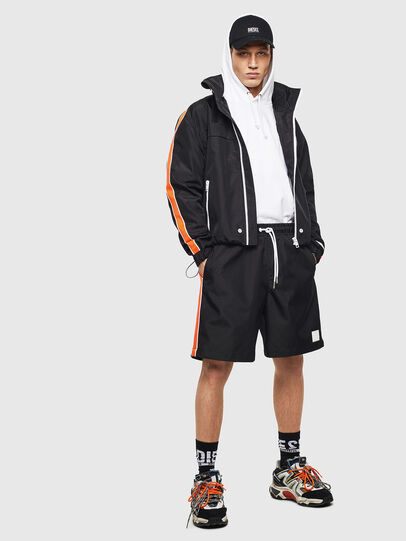Diesel - P-KEITH, Black - Shorts - Image 6