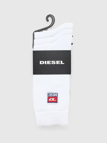 Diesel - SKM-RAY-THREEPACK, White - Socks - Image 2