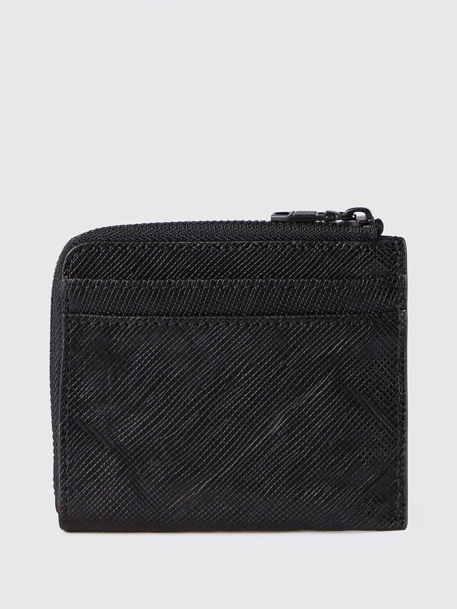 Diesel - PASS ME, Black - Continental Wallets - Image 2