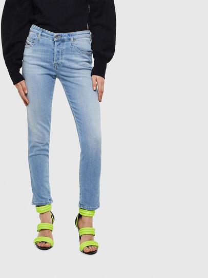 Diesel - Babhila 0095D, Light Blue - Jeans - Image 1