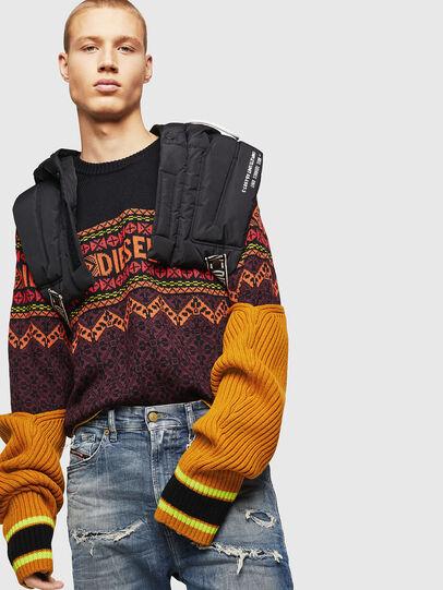 Diesel - K-CV-ALLJAC, Multicolor/Black - Knitwear - Image 5