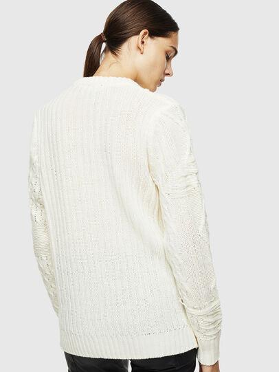 Diesel - K-BRIGLY, White - Knitwear - Image 4