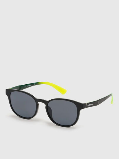 Diesel - DL0328, Black/Yellow - Sunglasses - Image 2