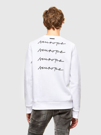 Diesel - S-ARGON-A, White - Sweaters - Image 2